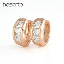 Маленькие серьги кольца для женщин подарочные золотые oorbellen