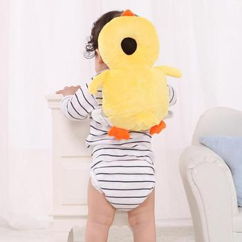 Newborn Baby Pillow And Head Protector Pillow For Toddlers Headrest Neck Safe Pad Cushion