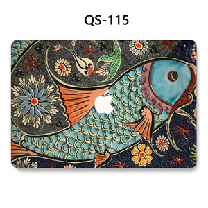 Image 3 - For New Notebook MacBook Laptop Case Sleeve For MacBook Air Pro Retina 11 12 13.3 15.4 Inch With Screen Protector Keyboard Cove
