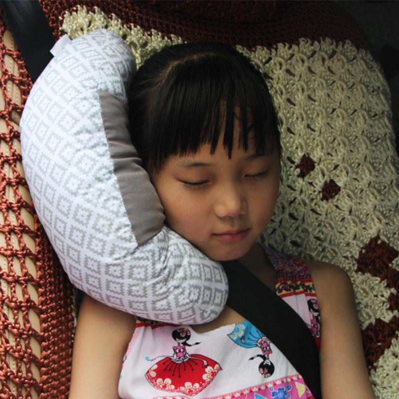 Children Car Pillow Styling Neck Headrest Cushion Car Seat Belts Pillow Kids Shoulder Safety Strap Protection Pads Support