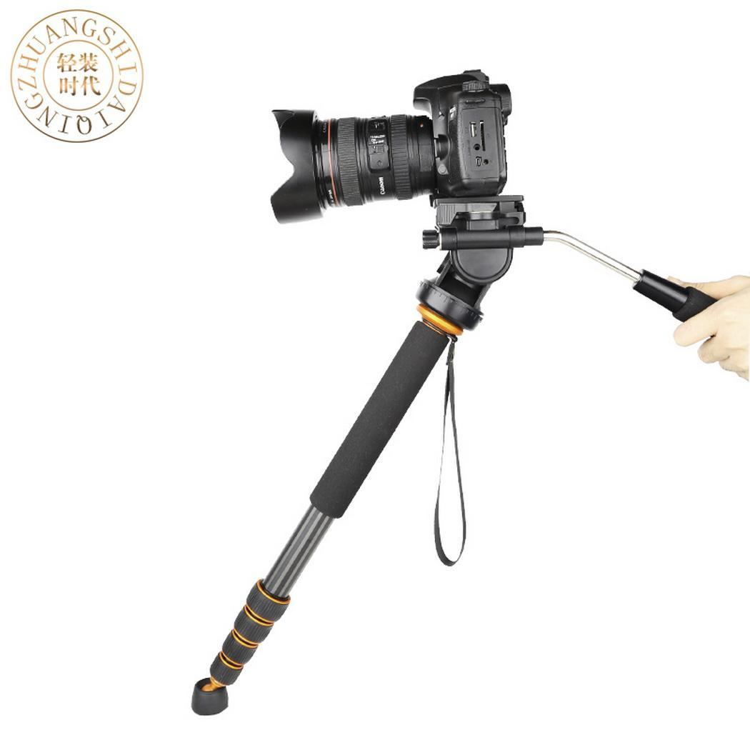 Portable Telescopic Damping Handle Hydraulic PTZ Monopod 580mm 16mm 580mm Photography 28mm Set 5 SectionsPortable Telescopic Damping Handle Hydraulic PTZ Monopod 580mm 16mm 580mm Photography 28mm Set 5 Sections