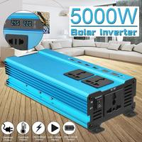 KROAK Inverter 12V 220V 5000W Pea Car Power Inverter Voltage Transformer Converter 12 220 Charger Solar Inversor 12V 220V