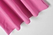 buttons high waist short sleeve slim knitted dresses PU27