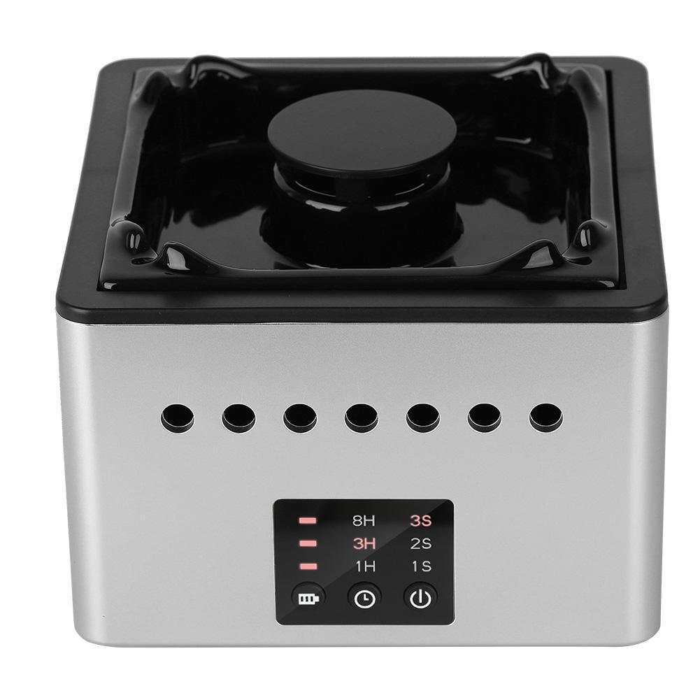 White Multi-functional Air Purifier Ashtray For PM2.5 Haze Secondhand Smoke Formaldehyde USB Antiperspirants Ashtrays