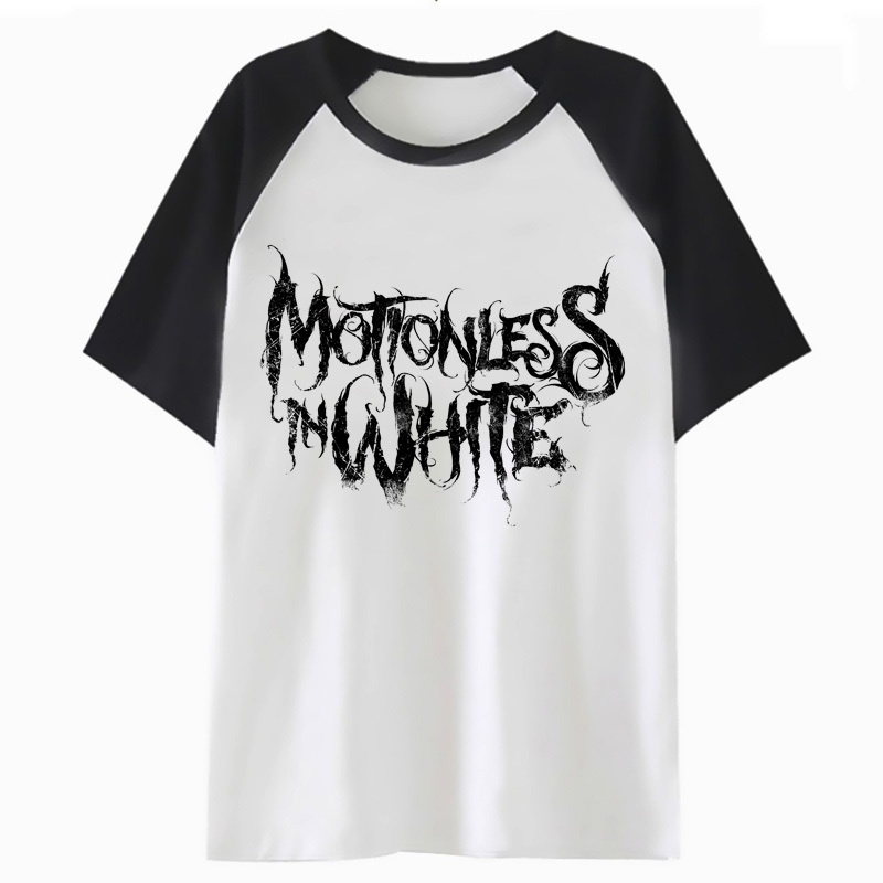 Motionless In White T Shirt Harajuku For Hip Clothing Tee Men Hop Streetwear Male T-shirt Top Tshirt Funny P1908