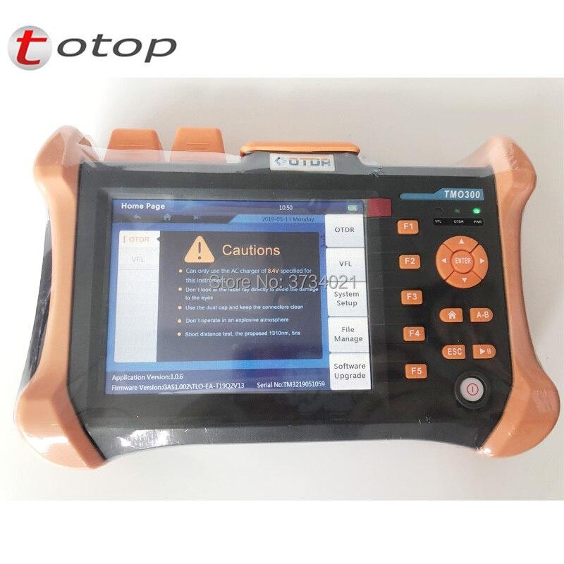 5,6 pulgadas TFT-LCD pantalla táctil portátil OTDR TMO-300-SM-A/B/C 1310/1550nm... 32/30dB 30/28dB 28/26dB integrado 10 mw VFL TMO300