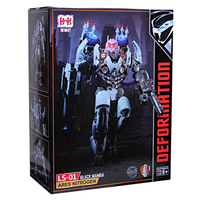 The Last Knight Nitro Larger Robot Transformation Deformation Ls 01 Ares Nitrogen Black Mamba Action Figure Model Toy With Box