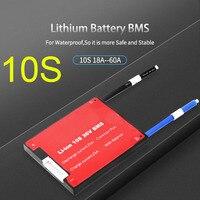 Dykb 10S 36V BMS Li-ion Pin Lithium BMS Ban Bảo Vệ Với Độ Cân Bằng Chống Thấm Nước 18650 15A 20A 30A 40A 50 60A Cell Pin