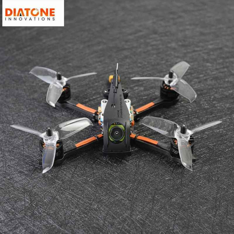Upgrade Diatone 2019 GT R349 TBS VTX Edition 135mm 3 Inch 4S FPV Racing RC Drone PNP W/ F4 OSD 25A RunCam Micro Swift