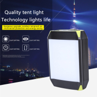 LED tent light outdoor lighting USB Port charging treasure camping light work light Rechargeable Mobile Power Bank Flashlight