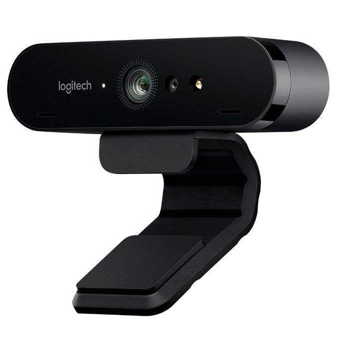 Camara Logitech Brio Resolucion 4 K 90 ° Vision, Zoom numérique 5x, mise au point automatique, trépied P/n: 960-001106