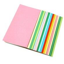 35 штук, бумага для рукоделия, оригами, листы для детей, сделай сам, украшения, свежие красочные художественные бумаги 14x7 см