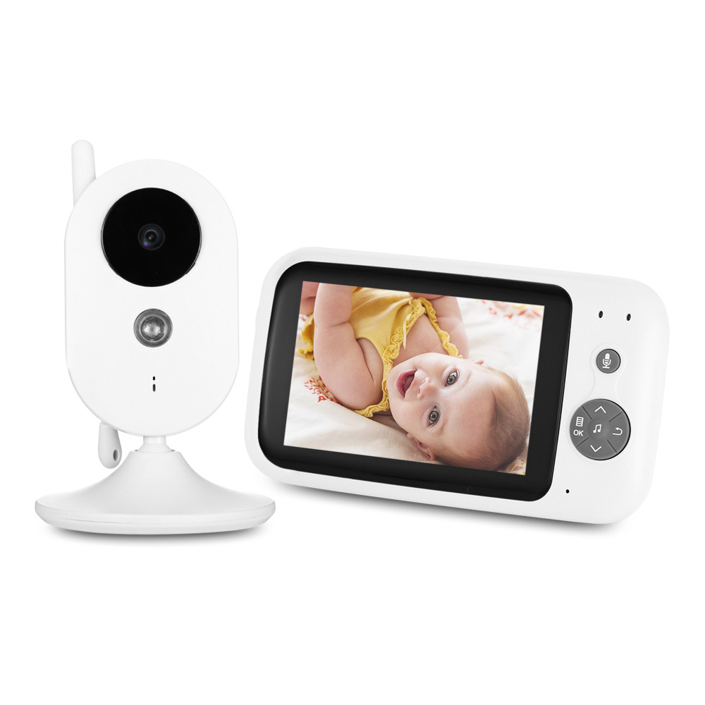 ZR303 Digital 3.5 inch 2.4GHz Wireless TFT LCD Baby Monitor with Night Vision baby security cameraZR303 Digital 3.5 inch 2.4GHz Wireless TFT LCD Baby Monitor with Night Vision baby security camera