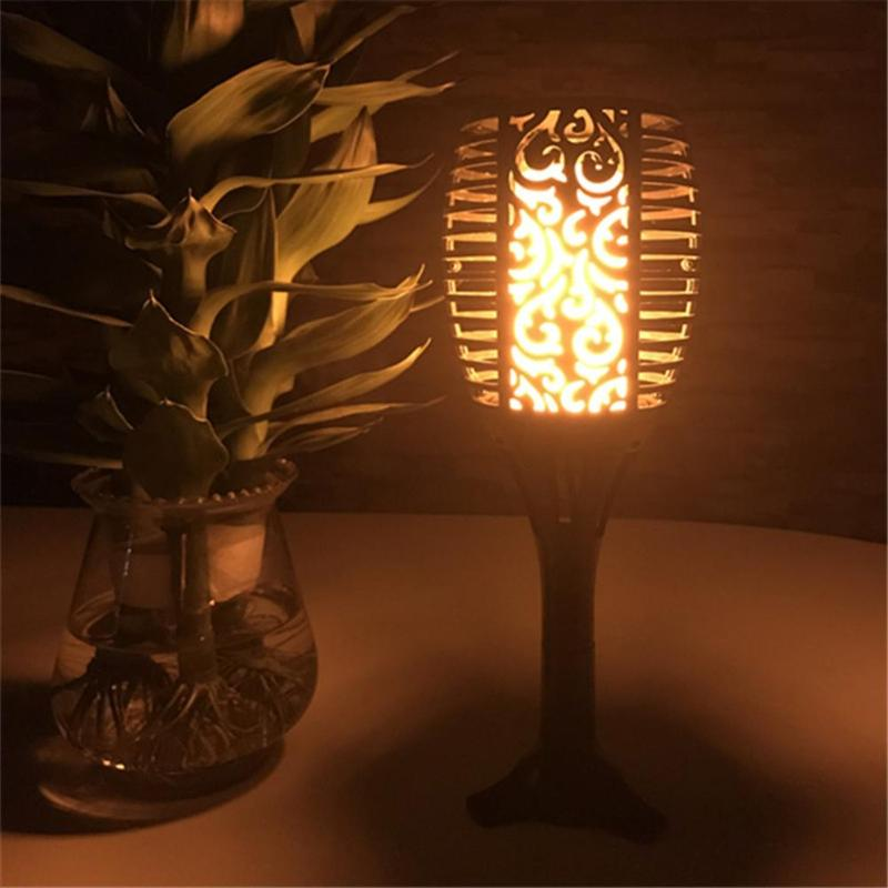 96LED Solar Flame Lamp Torch Lights Spotlight Waterproof IP65 LED Garden Light Outdoor lawn landscape light