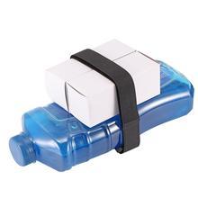 Черный нейлоновый веревочный ремень грузовой багаж держатель крепежные ремни с самостоятельно стикер на клейкой основе для мотоцикла автомобиля открытый кемпинг сумки