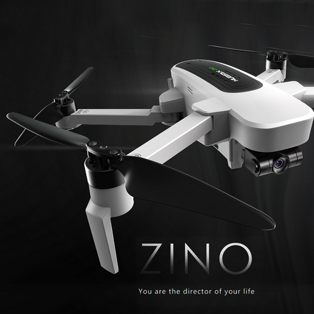 Hubsan Drone avec Caméra 4 K H117S Zino Brushless Moteur GPS 5G Wifi FPV UHD 3-Axe Cardan aérienne Prefessional Dron RC Quadcopter