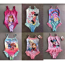 Foreign Trade Single Girl Baby In Children Summer Minnie