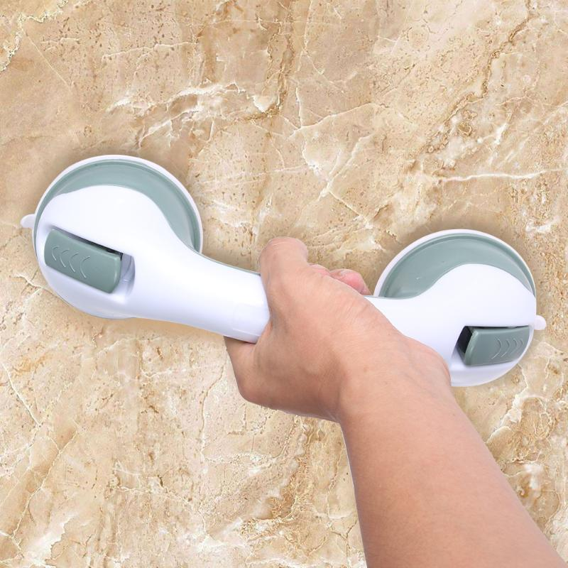 For Bathroom Grab Handle Rail Grip Accessories Bathroom Suction Cup Handle Grab Bar For Shower Safety Cup Bar Tub Handrail