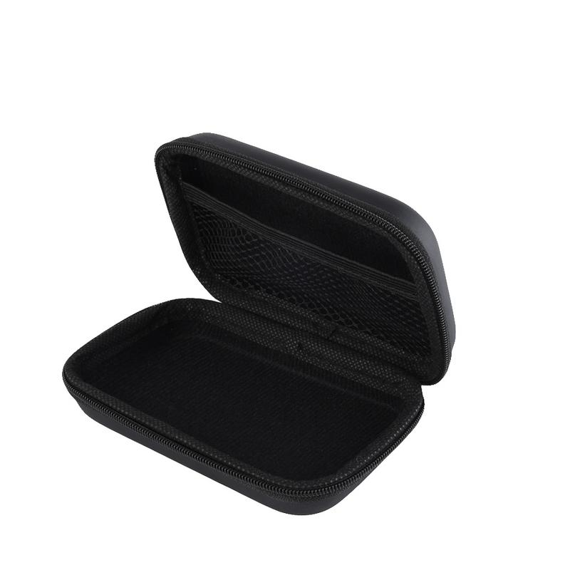 Image 5 - Portable Protector Cover Earphone Charging Cable Drive Oval Style Bags Delicate Shockproof Protective Zipper Pouch Storage Box-in Earphone Accessories from Consumer Electronics