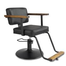 Stoelen Schoonheidssalon Cabeleireiro De Belleza Mueble Furniture Makeup Hair Salon Shop Barbershop Cadeira Silla Barber Chair(China)