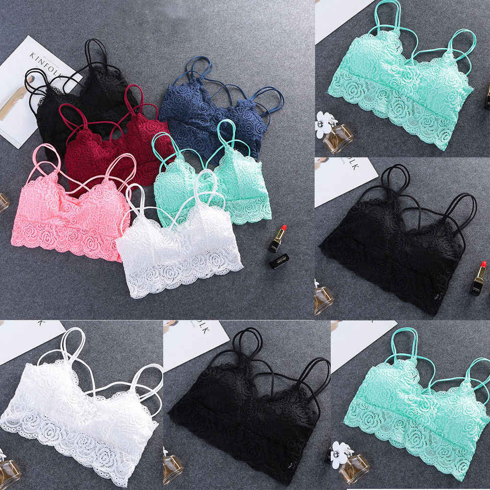 1770991cdbf0b3 Detail Feedback Questions about Women Lace Floral Unpadde Bras ...