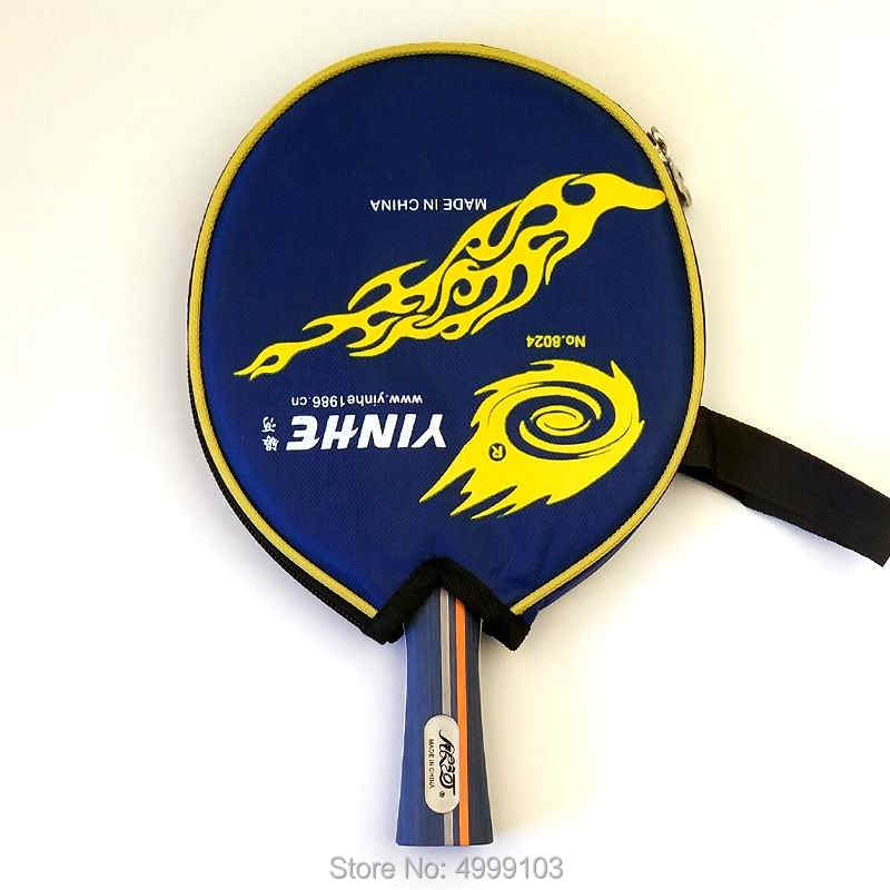 Original yinhe 01b table tennis racket finished racket ping pong racquet game fast attack with loop