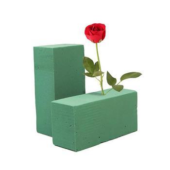 Soporte para flores de espuma de ladrillo para floristas de boda diseño de arreglos de flores frescas suministros para manualidades