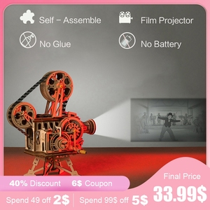 New product promotion, 6$ big coupon for you! Real Film projector!(China)