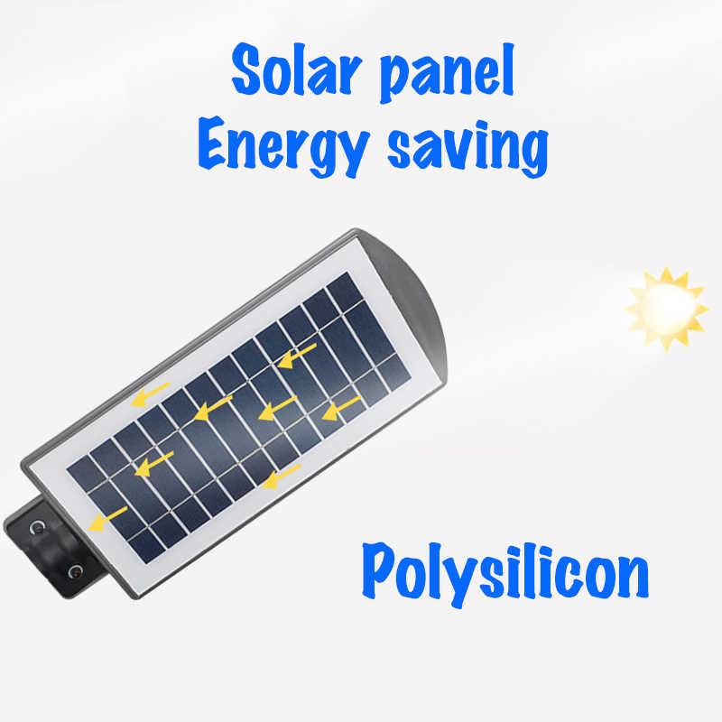 Smuxi IP65 Водонепроницаемый 20 W/40 W 60 W светодиодный солнечный Уолл-стрит световой радар движения PIR Сенсор открытый настенный светильник солнечный свет сада