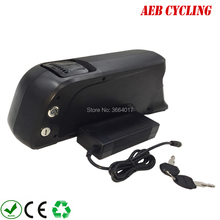 Free Shipping Li-ion Rechargeable 36v 48v 52v Electric bike battery 250w 350w 500w 750w 1000w 10-17.5Ah Ebike battery pack цены