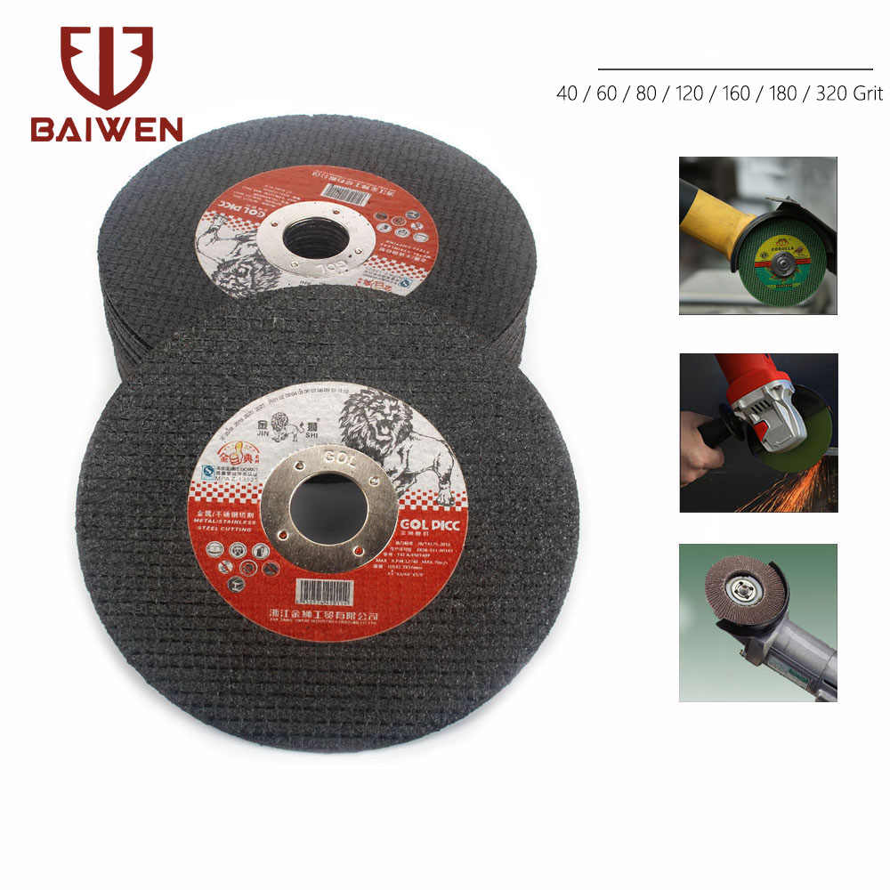 "4/"" 5/"" Thin Cutting Discs Wheel Cut-Off Angle Grinder Grinding Steel Metal Tool"