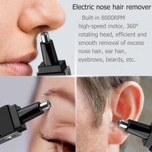 Электрический триммер для бритья носа волос для мужчин уход для лица для женщин бритвы безопасный триммер бровей Прямая поставка