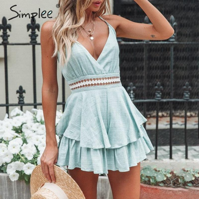 Simplee Sexy Playsuit S19JU6308