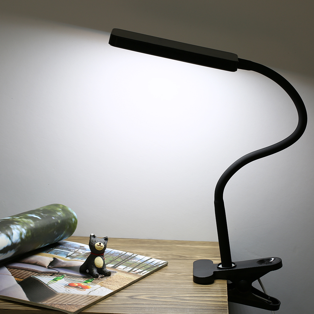 Led Clip Night Lamp 3 Light Colors & Stepless Dimming 360