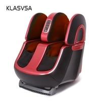 KLASVSA Electric Reflexology Body Foot Leg Massager Shiatsu Machine Vibrator Infrared Heat Air Compression Airbag Kneading Relax