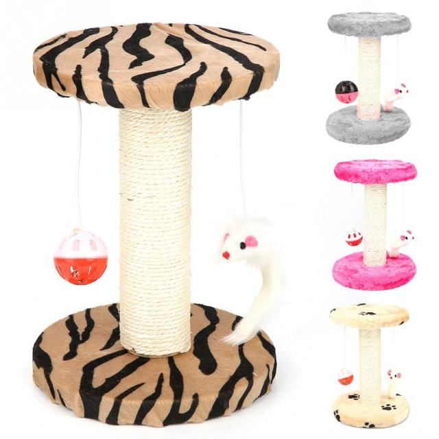 Cat Furniture For Cats Scratcher Climbing Tree Tower Jump Toy Board Frame Scratching Post Pet House