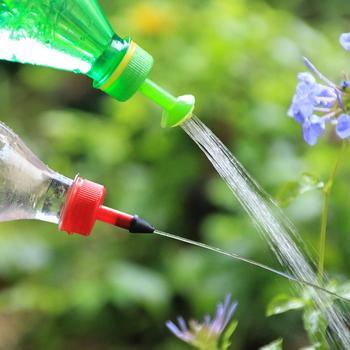 4 dysza kropidło podlewanie kwiaty soczyste rośliny butelka wody przyjazne dla środowiska butelka do napojów prysznic artykuły ogrodnicze tanie i dobre opinie Nozzle Zraszacze Nozzles drop shipping wholesale stock about 2 8x4 8cm 4pcs set watering tool garden tool bottle