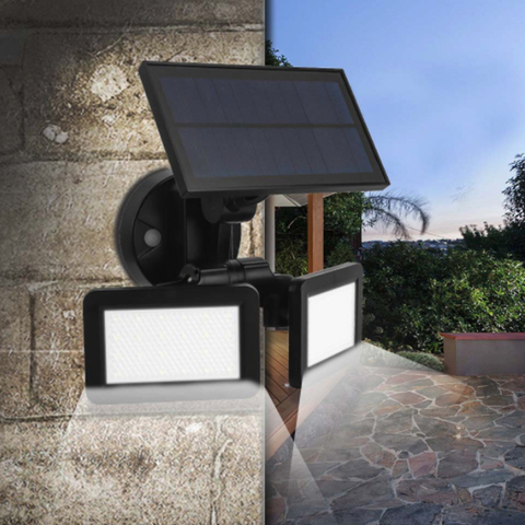 nova energia solar lampadas de inducao de microondas radar 48led parede de luz luz de