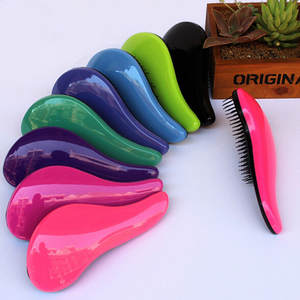 Hair-Brush-Comb Massage Beauty-Tool Magic-Handle Tangle Styling-Tamer Healthy Salon