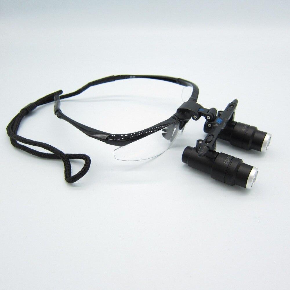 Di alta Qualità 6X Kepler Binoculare Medica lente di ingrandimento Chirurgico lenti di ingrandimento Dentali Lenti di Ingrandimento medical lenti di ingrandimento occhialini testa FD-501-K