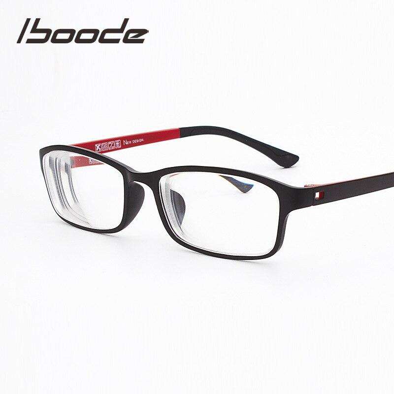 Iboode -0.5~-6.0 Diopter Retro Myopic Glasses For Student Myopia  Glasses Women Men TR90 Ultralight Eyewear Shortsighted Glasses