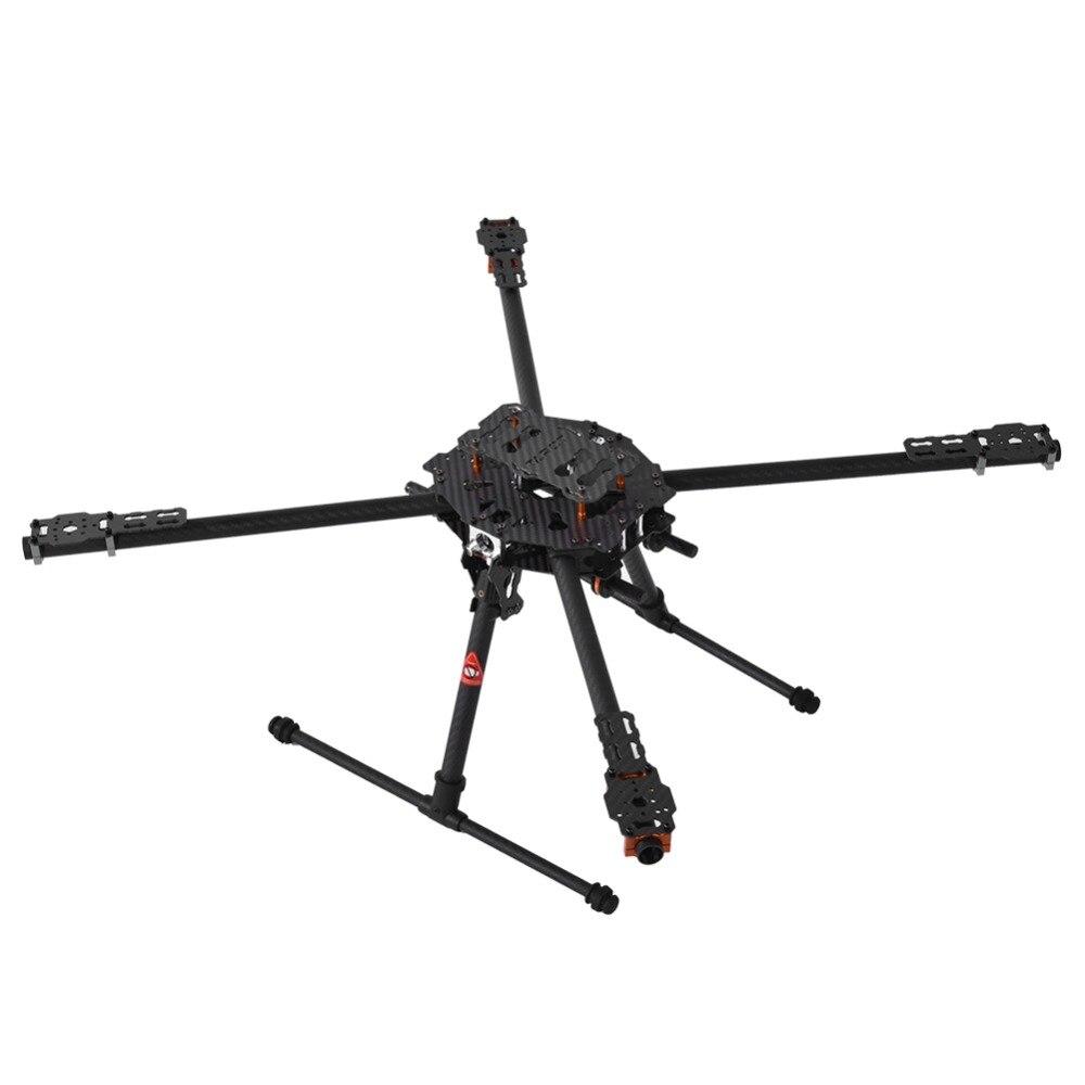 RC Quadcopter Frame Foldable Tarot Iron Man 650 Frame 3K Carbon Fiber CNC Quadcopter Frame TL65B01