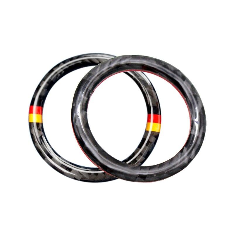 Image 3 - Для Mercedes Benz C E Class W205 W213 C180 C200 C300 GLC углеродного волокна автомобильный двигатель старт/стоп кнопочный ключ зажигания кольцо крышки-in Лепнина для интерьера from Автомобили и мотоциклы