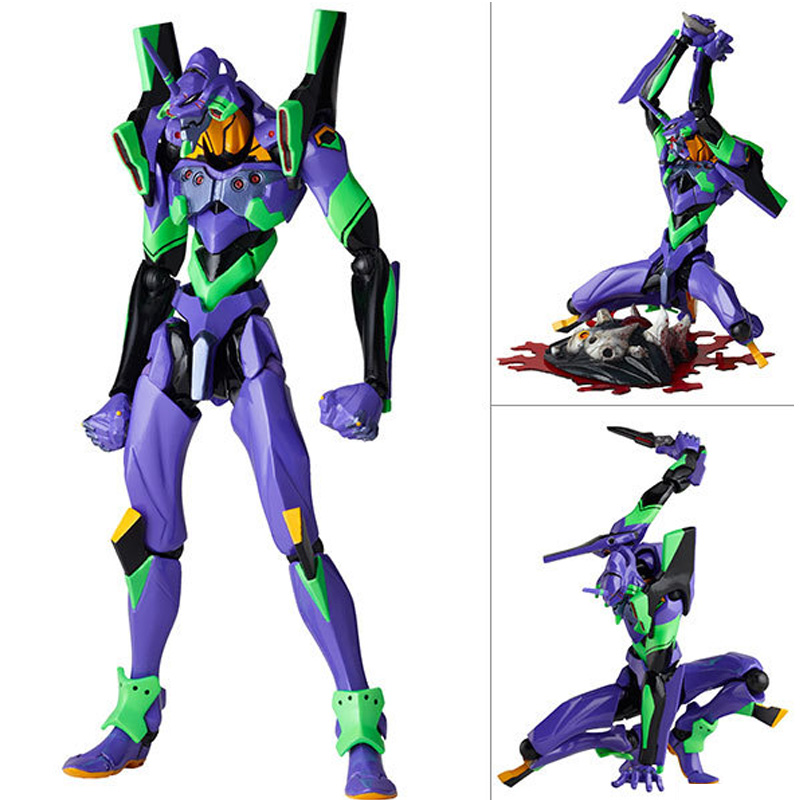 16cm EVA Neon Genesis Evangelion EVA-01 TEST TYPE 01 Cartoon Toy PVC Action Figures toys Anime figure Toys For Kids children    16cm EVA Neon Genesis Evangelion EVA-01 TEST TYPE 01 Cartoon Toy PVC Action Figures toys Anime figure Toys For Kids children