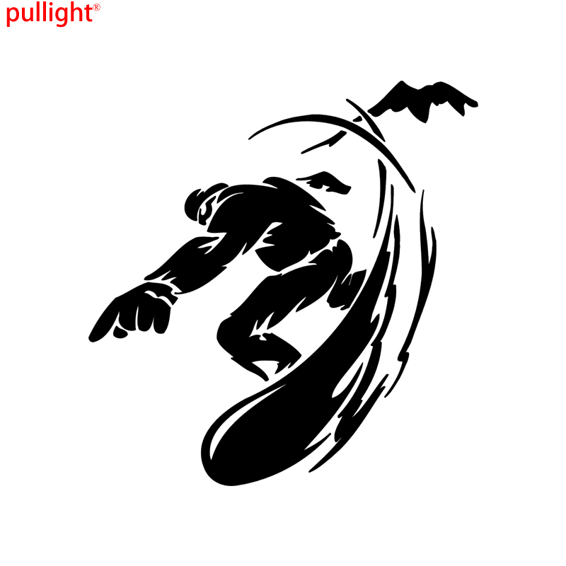 Snowboard Sticker Window Decal Bumper Sticker Vinil Laptop in Car Stickers from Automobiles Motorcycles