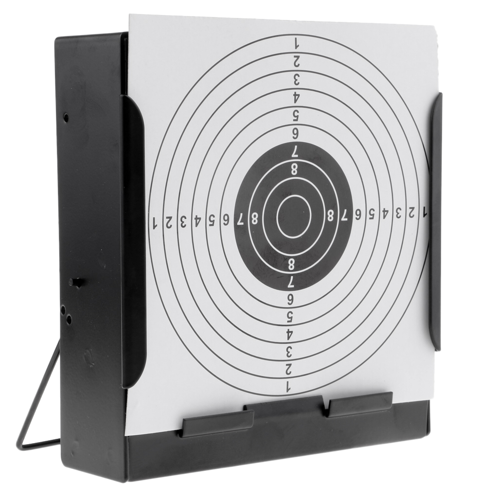 14cm Square Shooting Target Holder Pellet Trap Catcher Shooting Training Funnel Target Pellet Trap