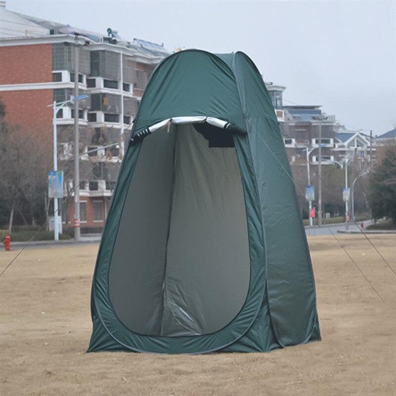Extérieur ombre auvent Portable Pop Up tente Camping tentes douche toilette intimité vestiaire abri solaire toldos para extérieur