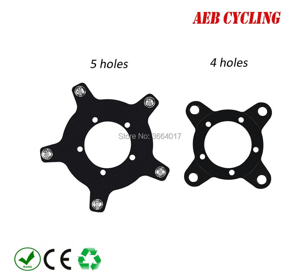 Ebike Electric bicycle Motor 104BCD 130BCD Chainring Spider Chain Ring Adapter