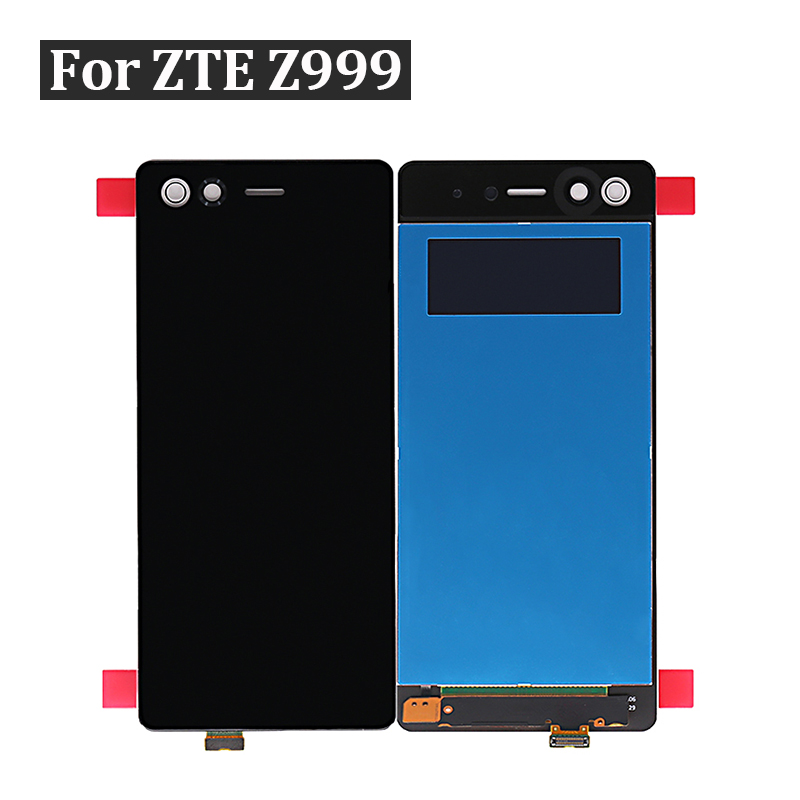 for ZTE Z999 LCD Display Touch Screen Digitizer Senor Assembly for ZTE Axon M Z999 Screen