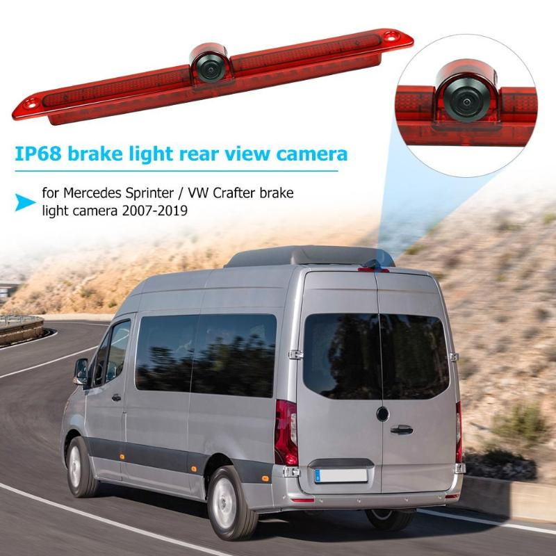 170 degree Viewing angle Third Brake Light Backup Waterproof Rearveiw Night Vision Reversing 1 7 mm